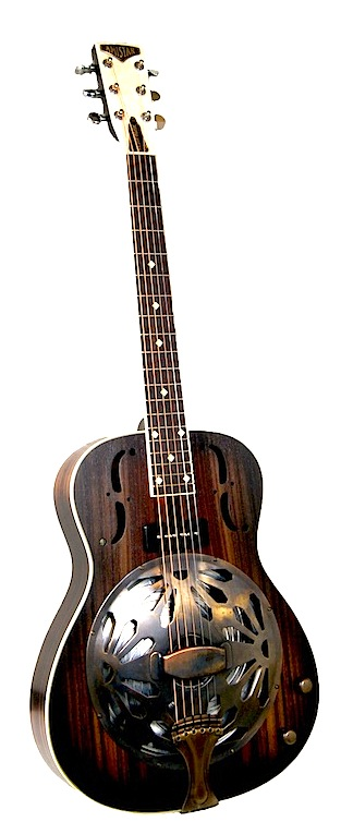Amistar Rosemount Duotone Resonator Guitar *SOLD*