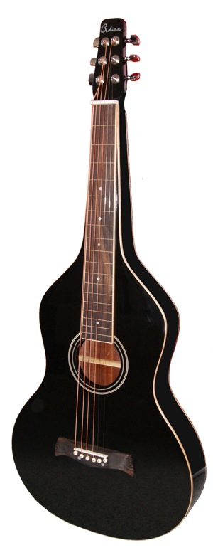 Black Weissenborn Style Lap Steel  | Glanz Finish