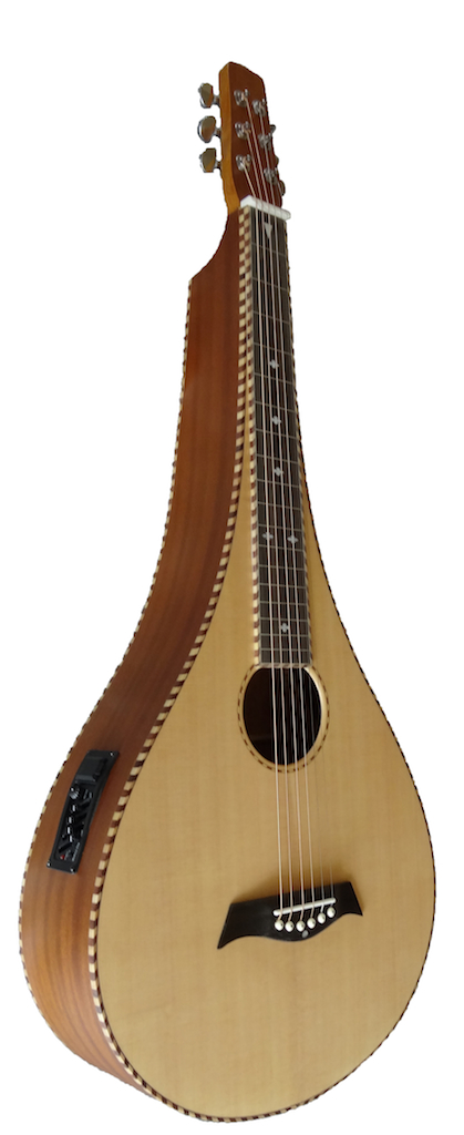 Deep Body Sitka Pear Shape Lapsteel | 4-Band EQ