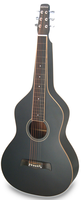 Black Deep Body Lap Steel Gitarre | Matt Finish