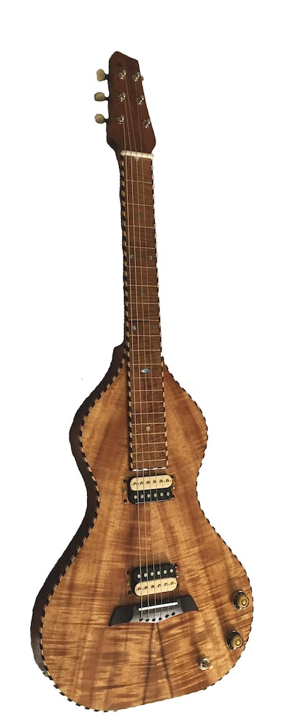 Electric Kona Lap Guitar by Melophonic's | M. Humbert (FR)
