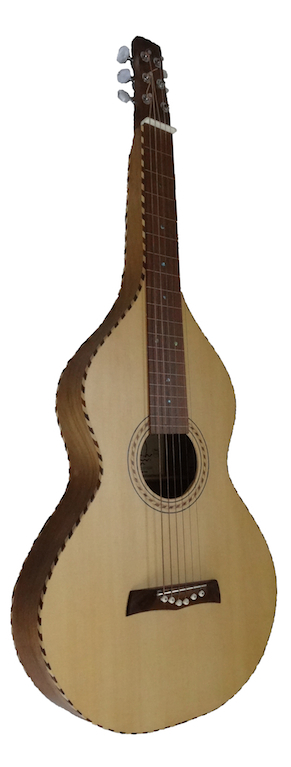 Lap Steel 'Val di Fiemme' & Walnut | E. Pasqualato (IT) *SOLD*