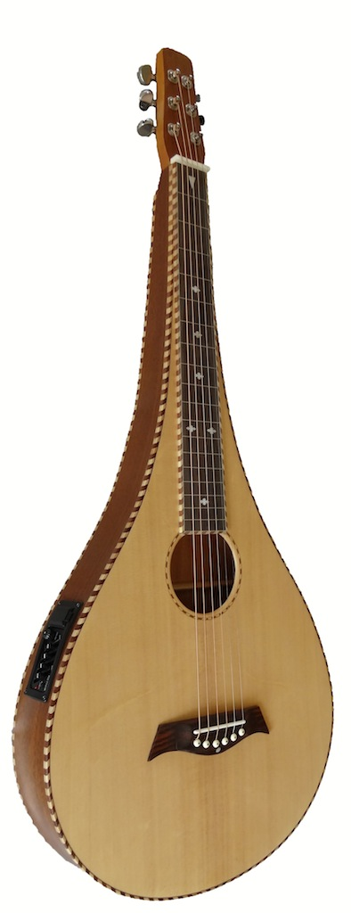 Sitka Pear Shape Lapsteel | 4-Band EQ