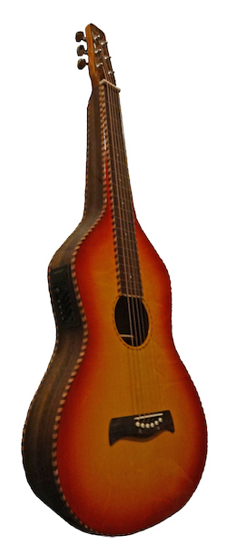 Sunburst Spruce Top Weissenborn Replika | Rope Bindings & Pickup