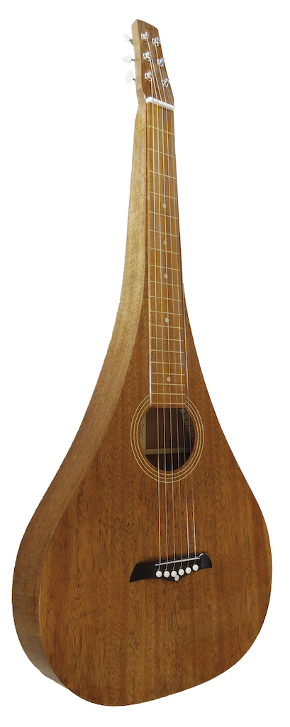 Teardrop Weissenborn Style all Koa | Tony Francis (NZ) *SOLD*