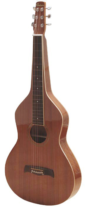 Lap Steel Gitarre im Weissenborn Stil | High-Gloss Finish
